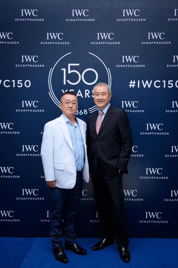 Lim Hock Thiam and Dr Kenny Chan