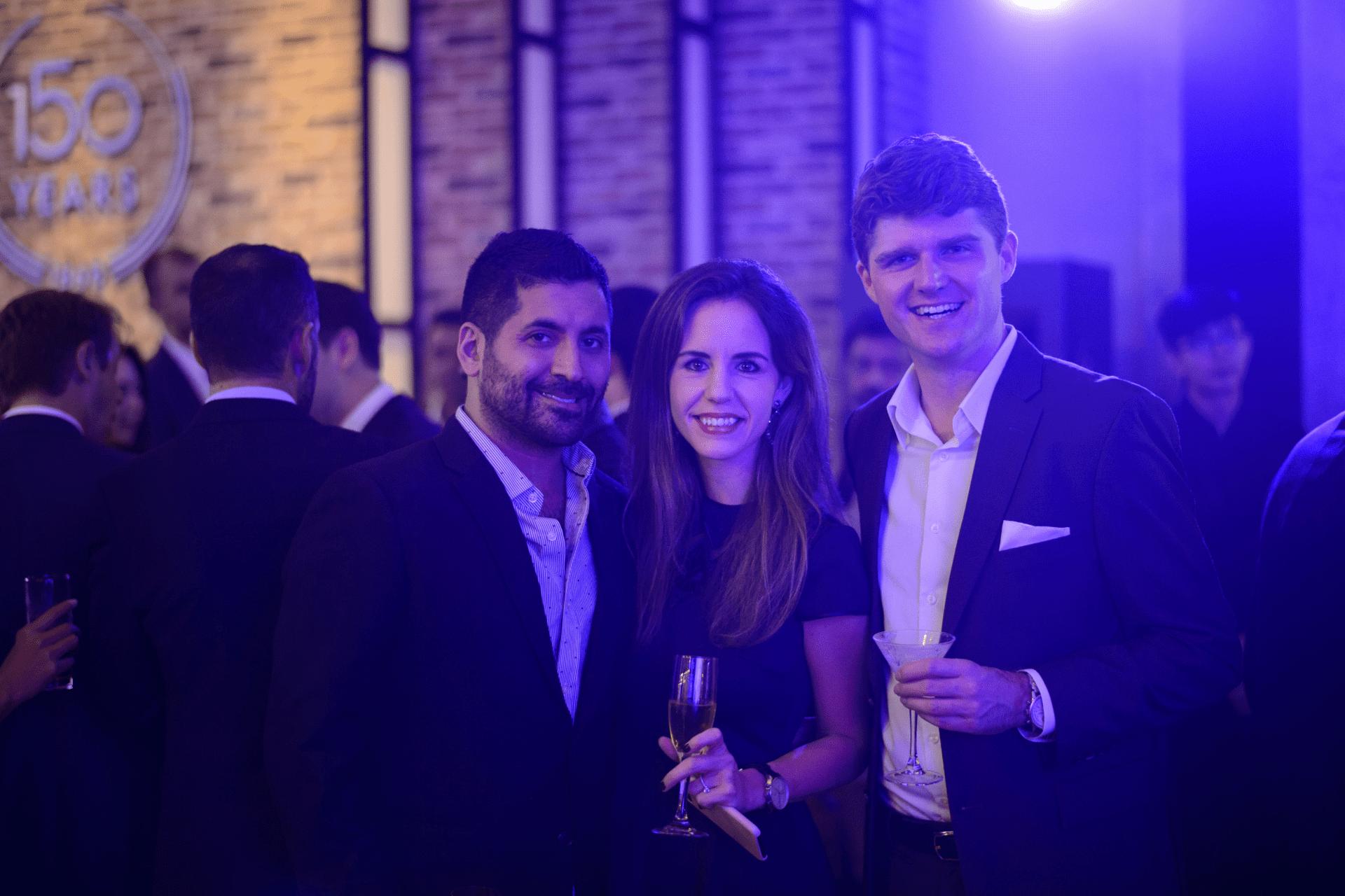 Raj Datwani, Sophie Guanter and Thomas Kempf