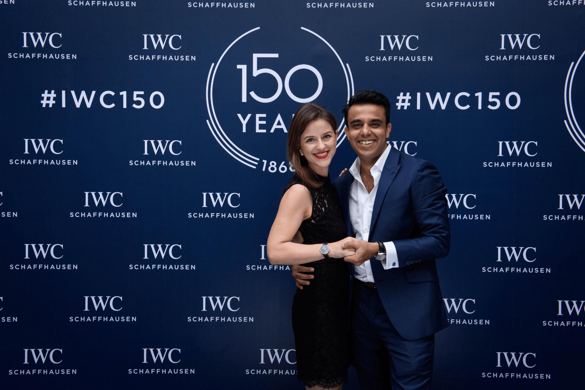 Charlotte Bourgeois and Usman Masood