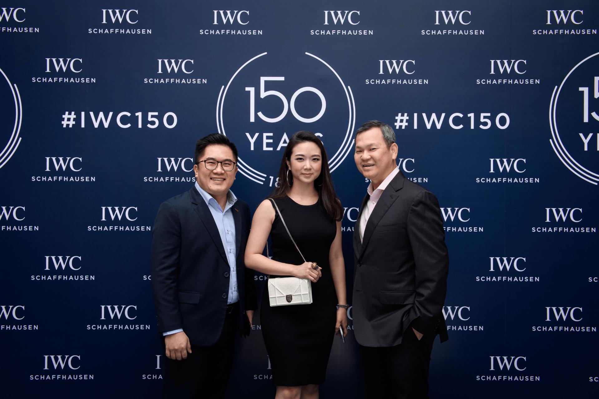 Alfred Koh, Samantha Tan and Lee Siew Hoong
