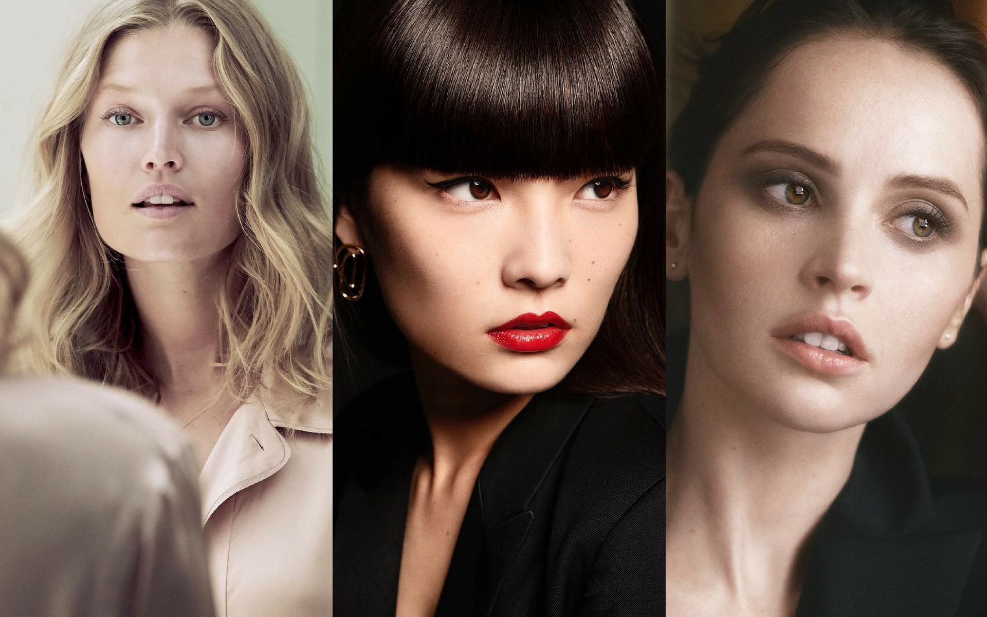 Best Makeup Cles Los Angelesfelicity Jones Bees The Face Of Newly Relaunched Luxury Beauty