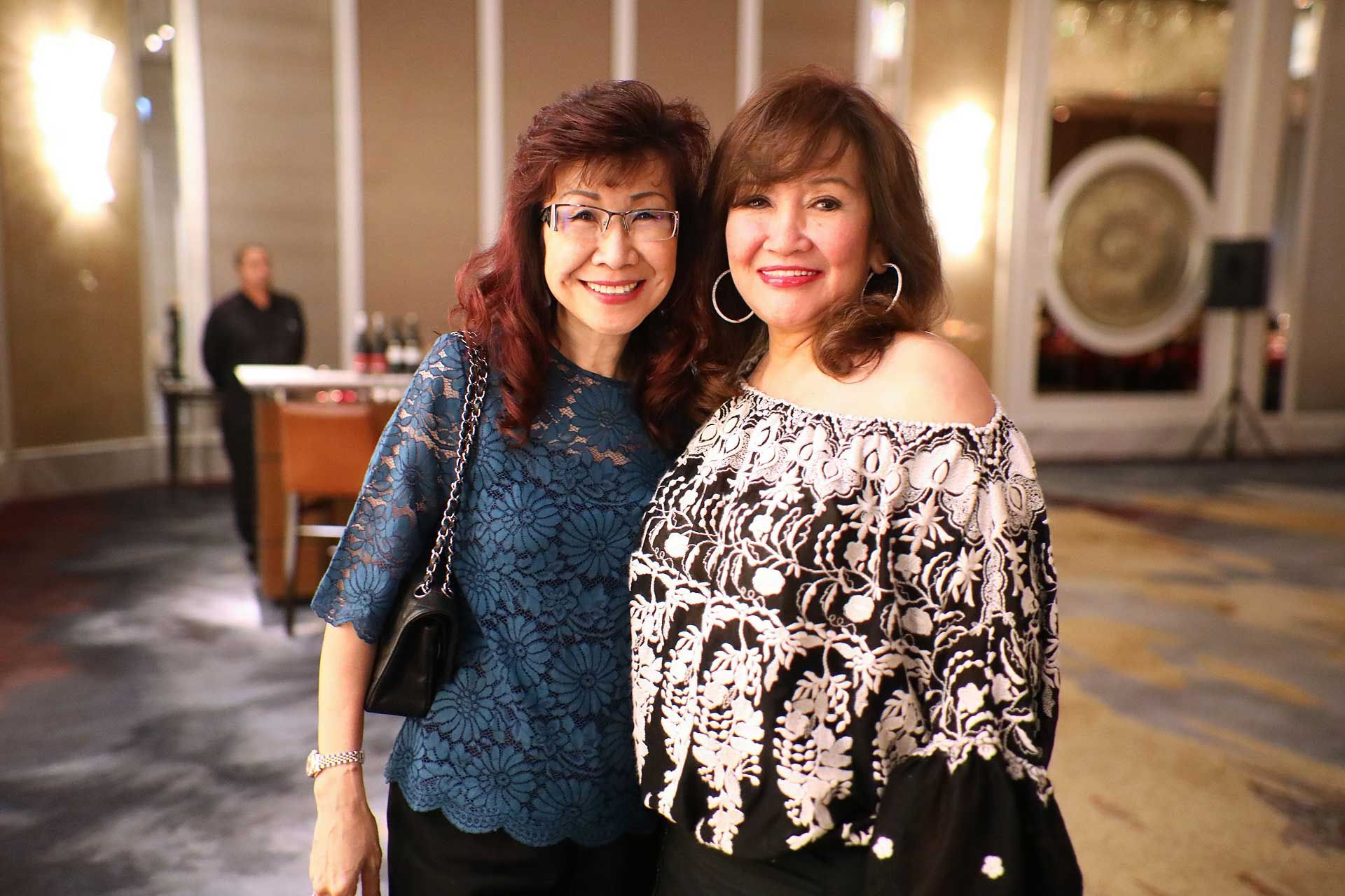 Florence Fang and Dato' Rosemarie Wee