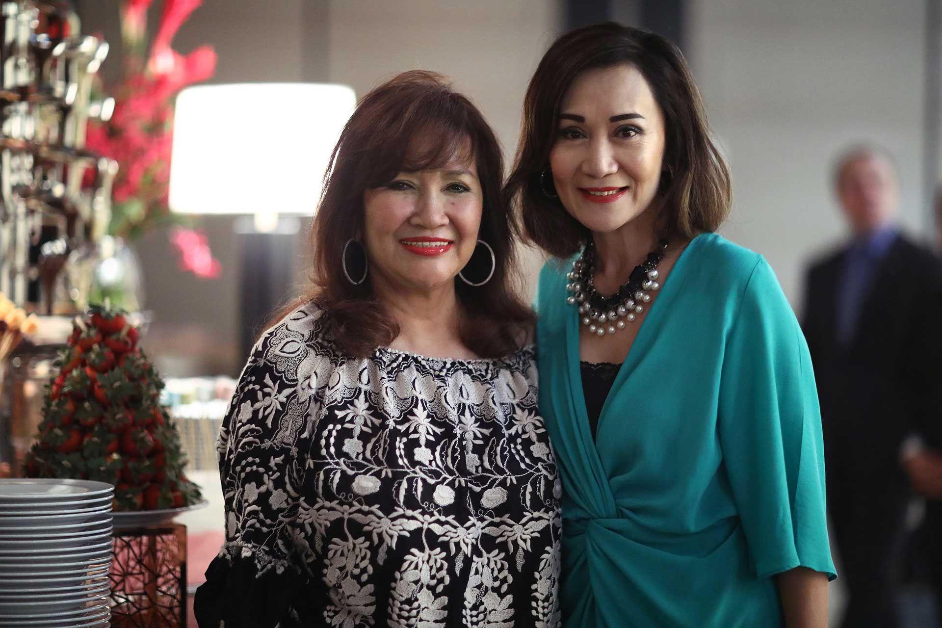 Dato' Rosemarie Wee and Datuk Nancie Foo