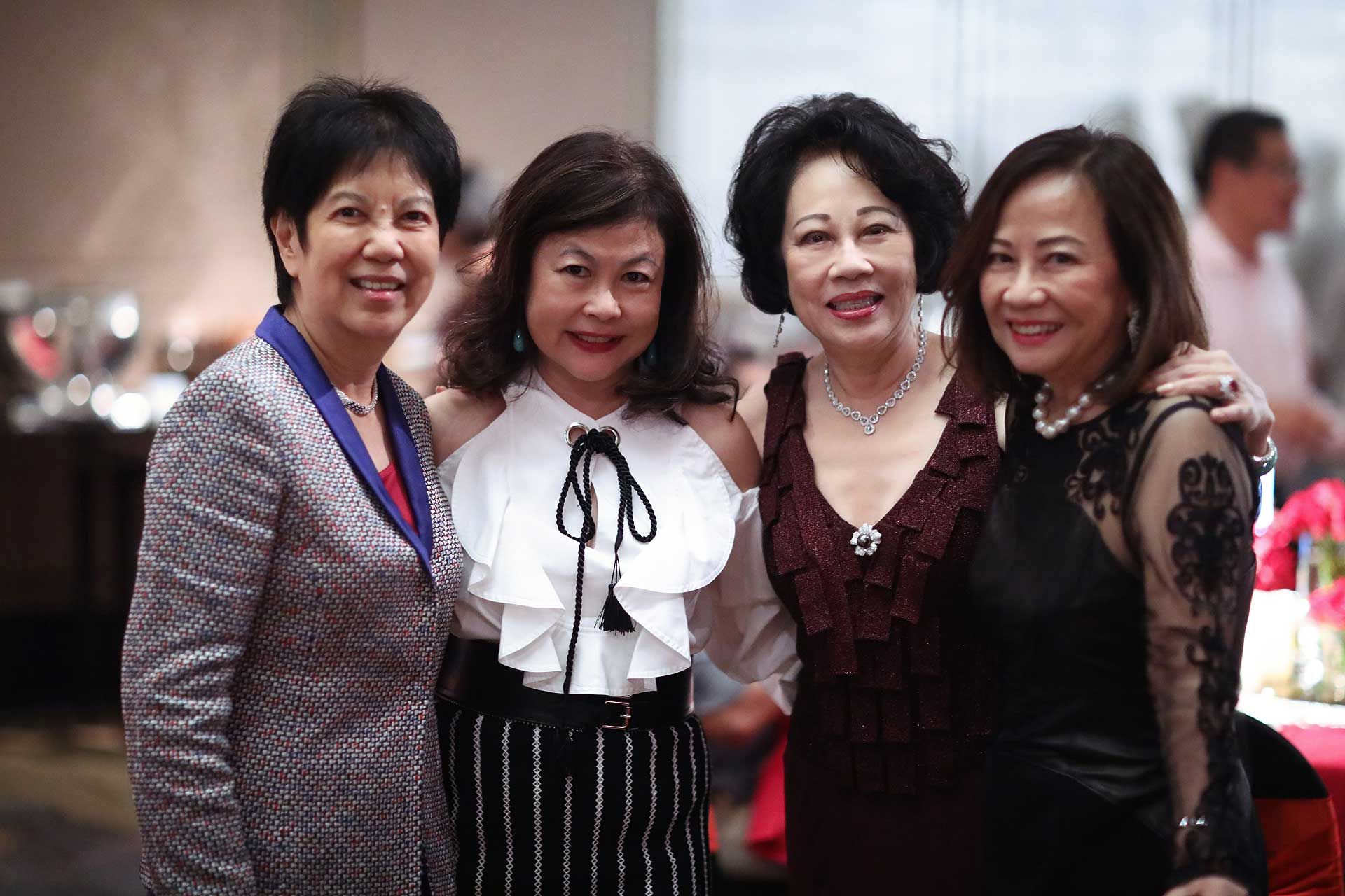 Chan Mo Lin, Chan Yue Yee, Dr Ann Chan and Molly Lim