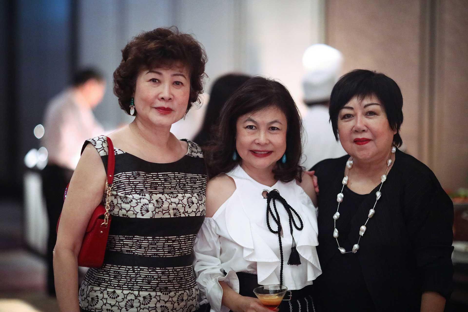 Ming Tsuan Sen, Chan Yue Yee and Pauline Tan