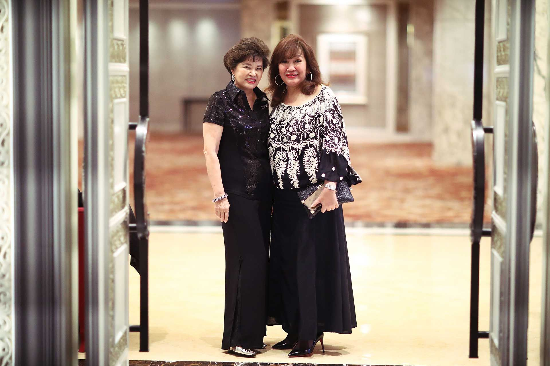 Tan Sri Dr Ng Yen Yen and Dato' Rosemarie Wee