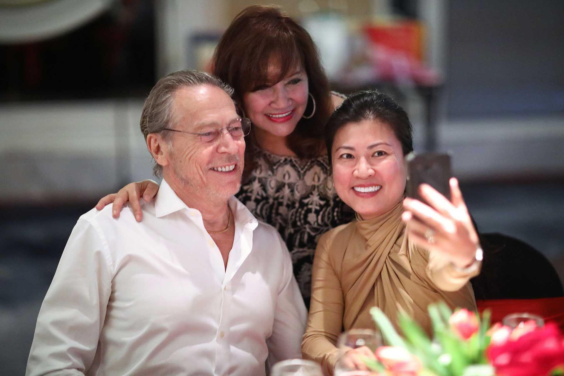 Tord Lissborg, Dato' Rosemarie and Shirley Lissborg