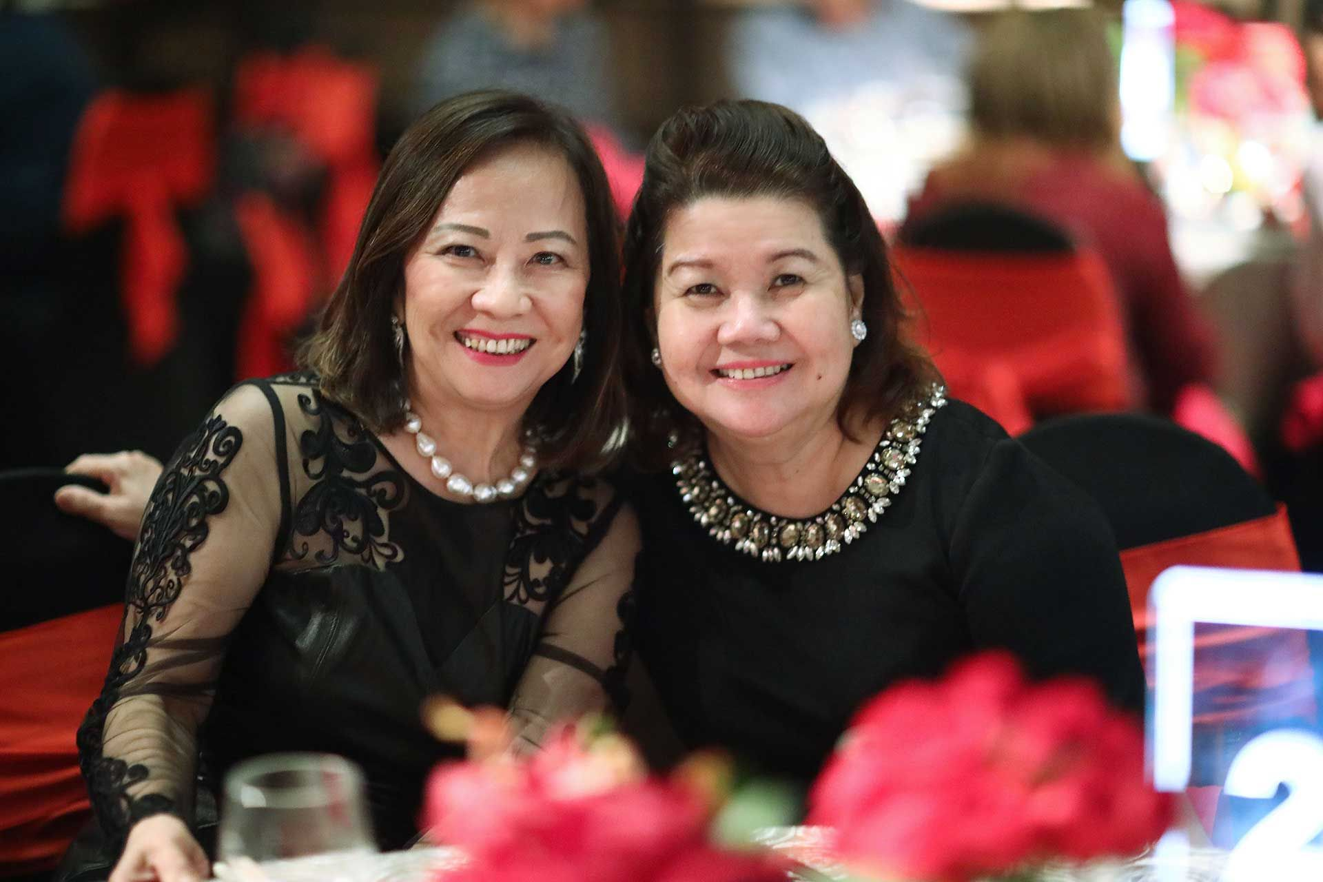 Molly Lim and Puan Sri Mae Cheng