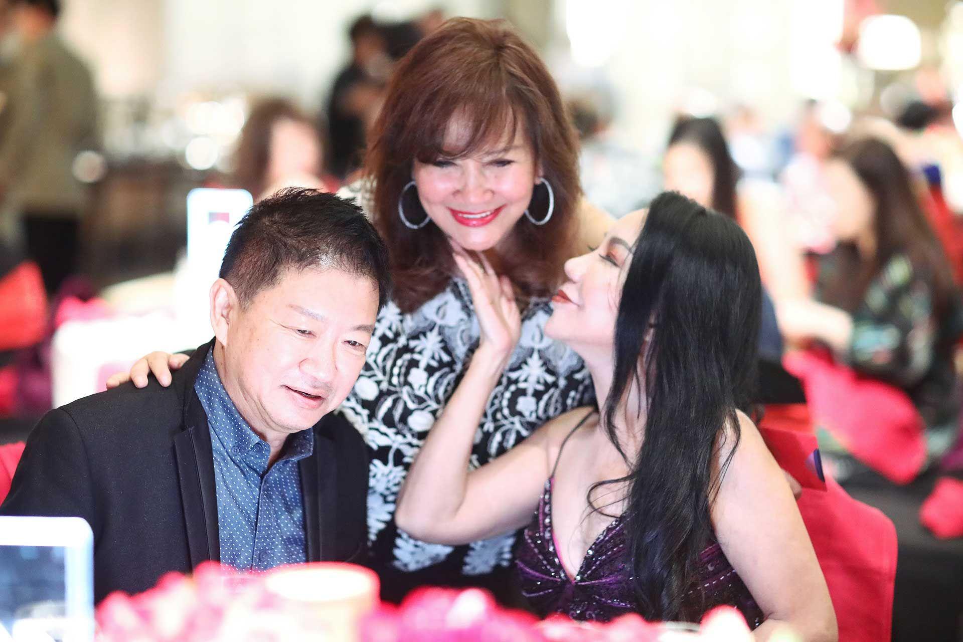 Dato' Peter Yong, Dato' Rosemarie Wee and Datin Maylene Yong