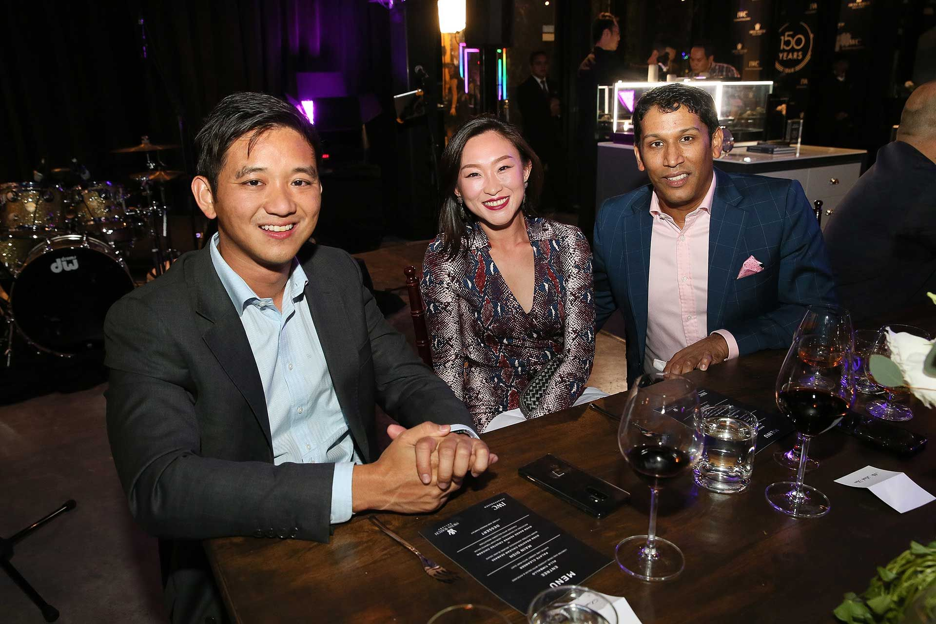Dato' Chevy Beh, Leah Tan and Anil Abraham