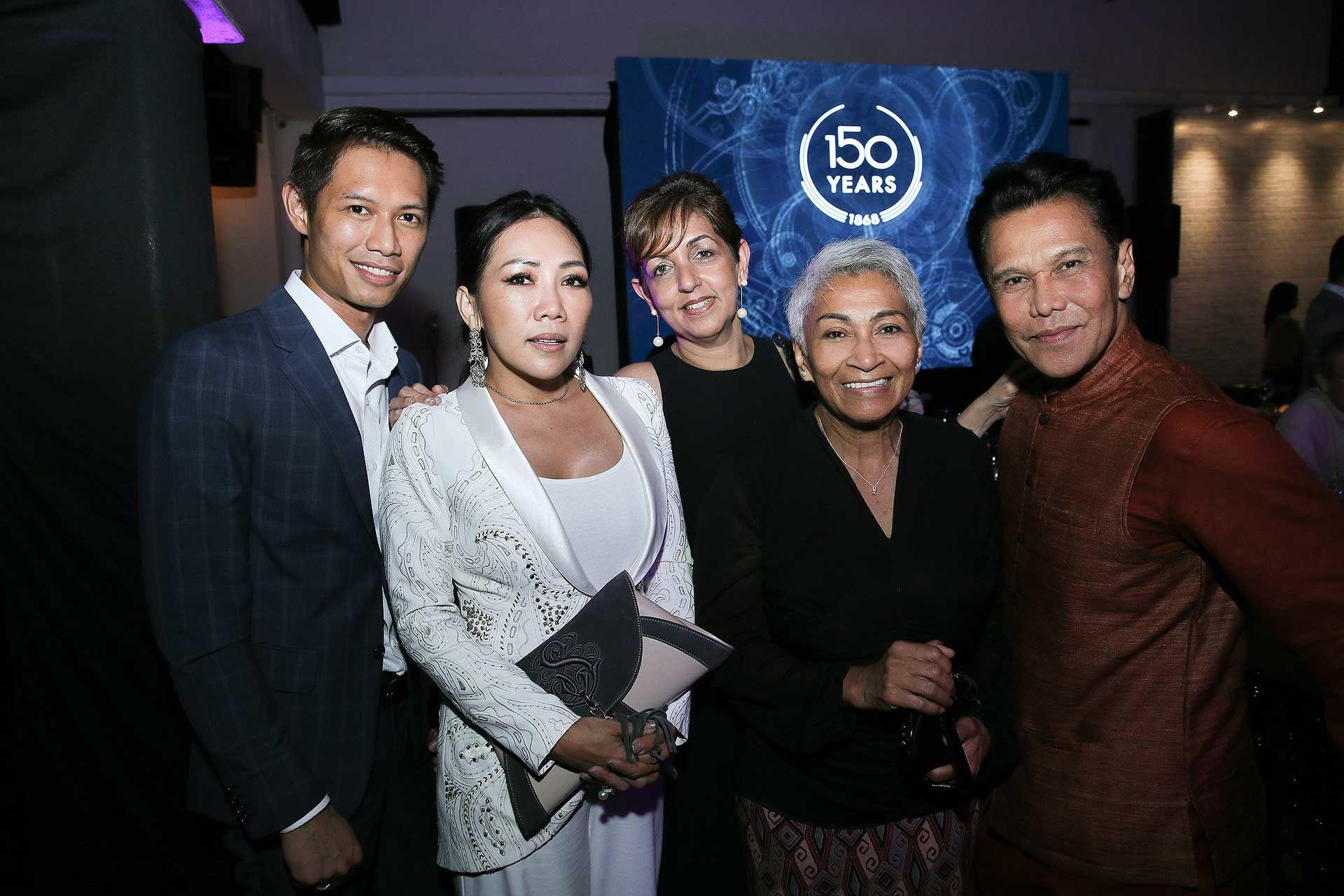 Lionel DG, Selina Yeop Jr, Surinder Jessy, Datuk Professor Mazlan Othman and Datuk Ramli Ibrahim