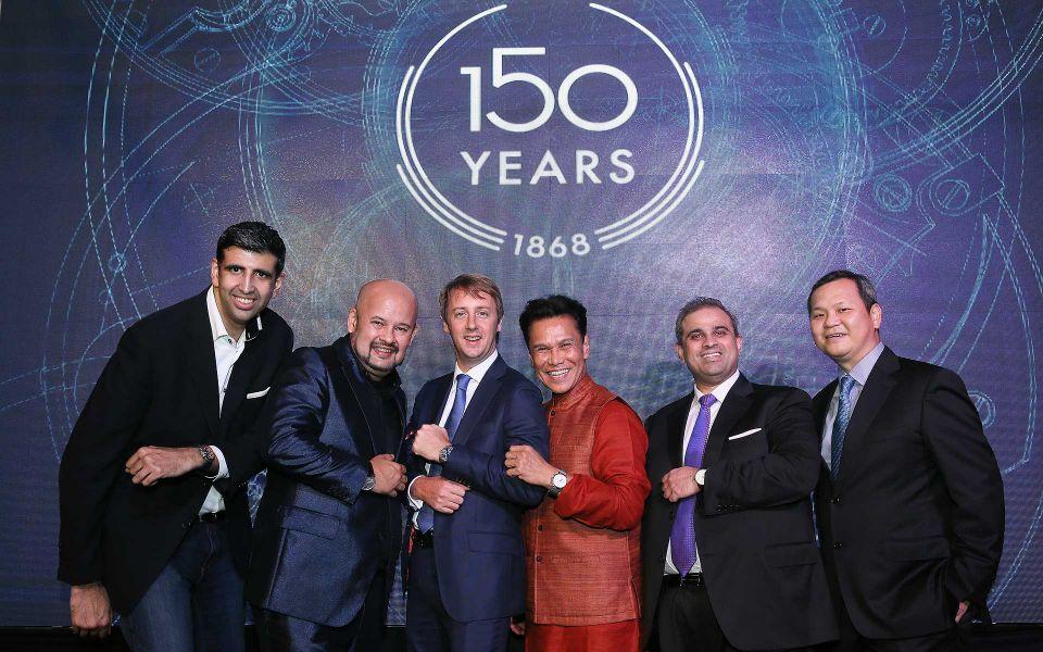 Mukesh Valiram,Harith Iskander, Stanislas Rambaud,Datuk Ramli Ibrahim,Sharan Valiram and Lee Siew Hoong