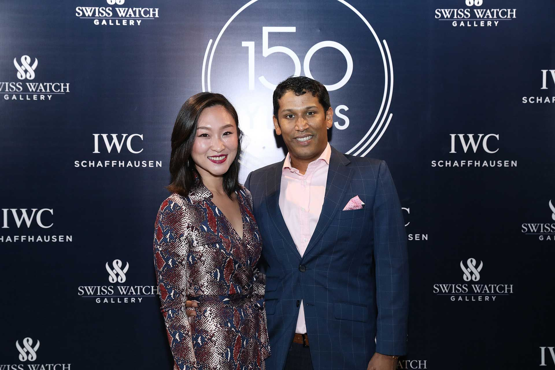 Leah Tan and Anil Abraham