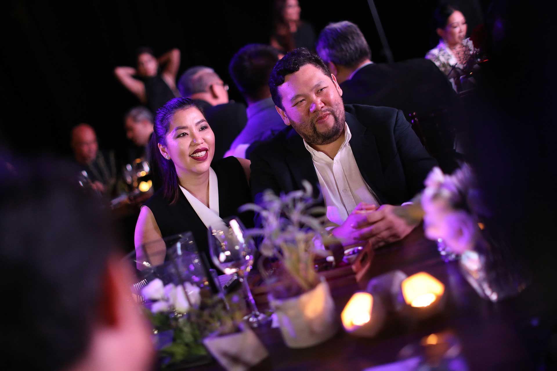 Elizabeth Lee Yong and Benjamin Yong