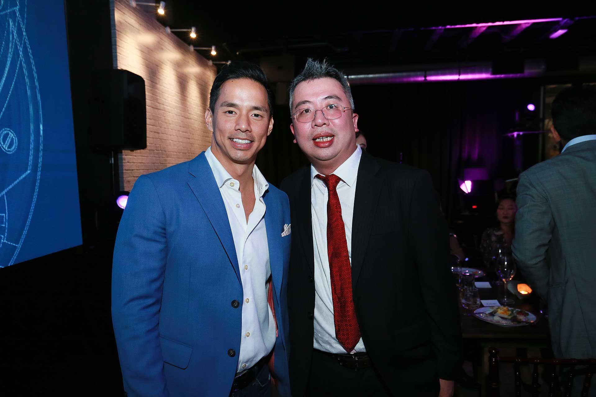 Tan San Chuan and Jerry Chun
