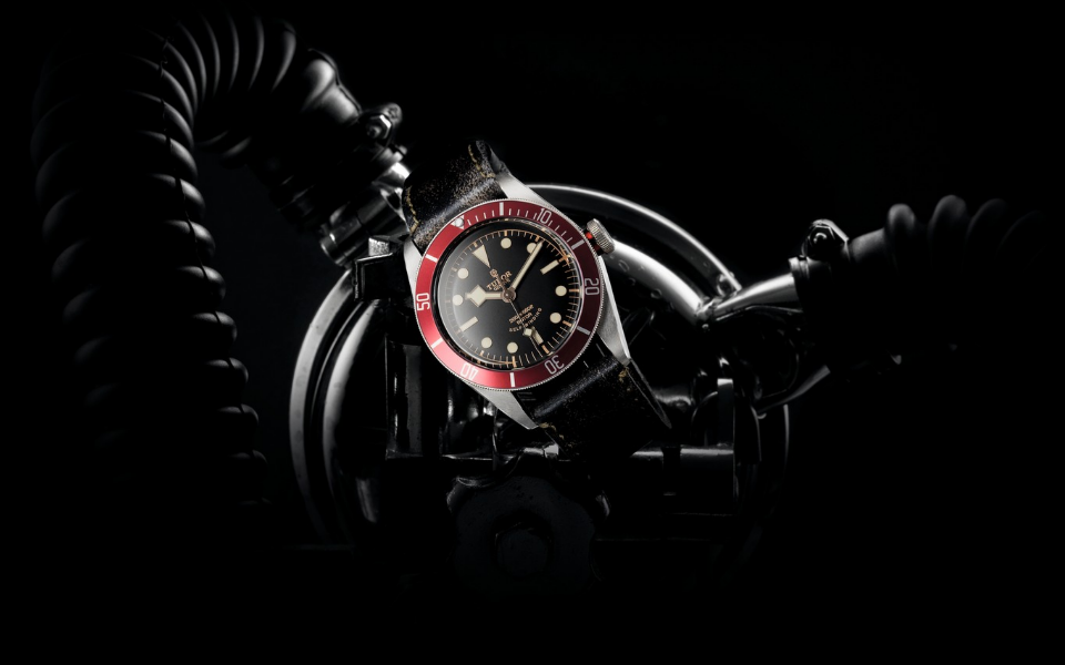 Tudor Heritage Black Bay from 2012 inspired by the 1954 Submariner (Photo: Tudor)