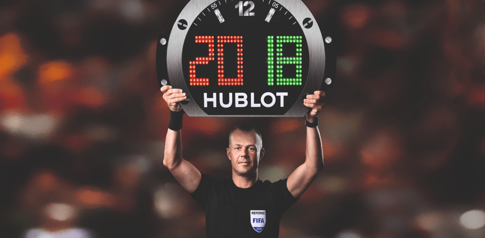 Hublot is the official timekeeper of World Cup 2018 (Photo: Hublot)