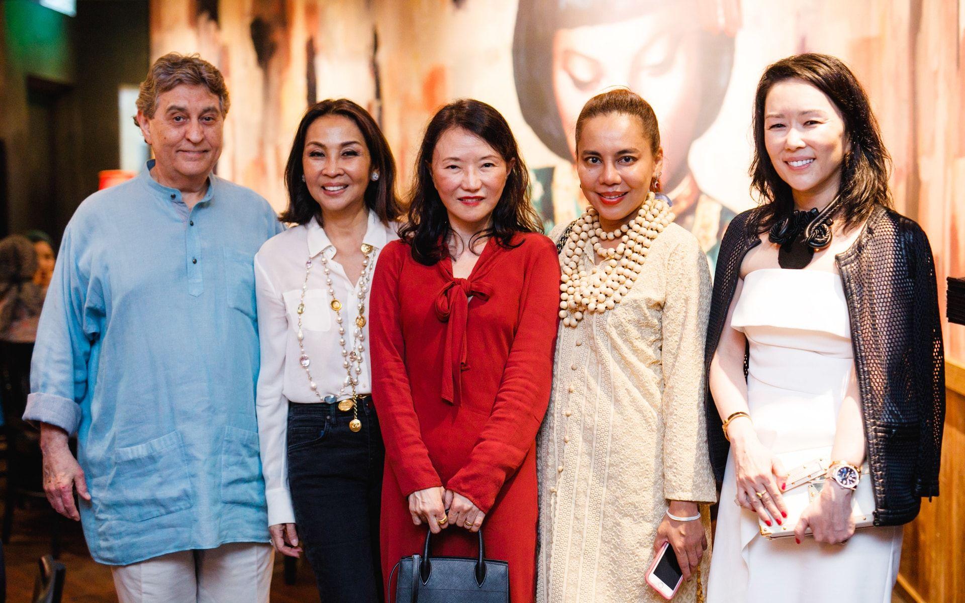 Dato' Nick Lough, Dato' Seri Farah Khan, Datin Merina Lough, Shireen Zainudin and Shawna Yap