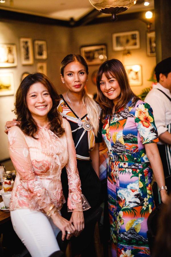 Mariam Teh, Esha Genied and Meera Sen