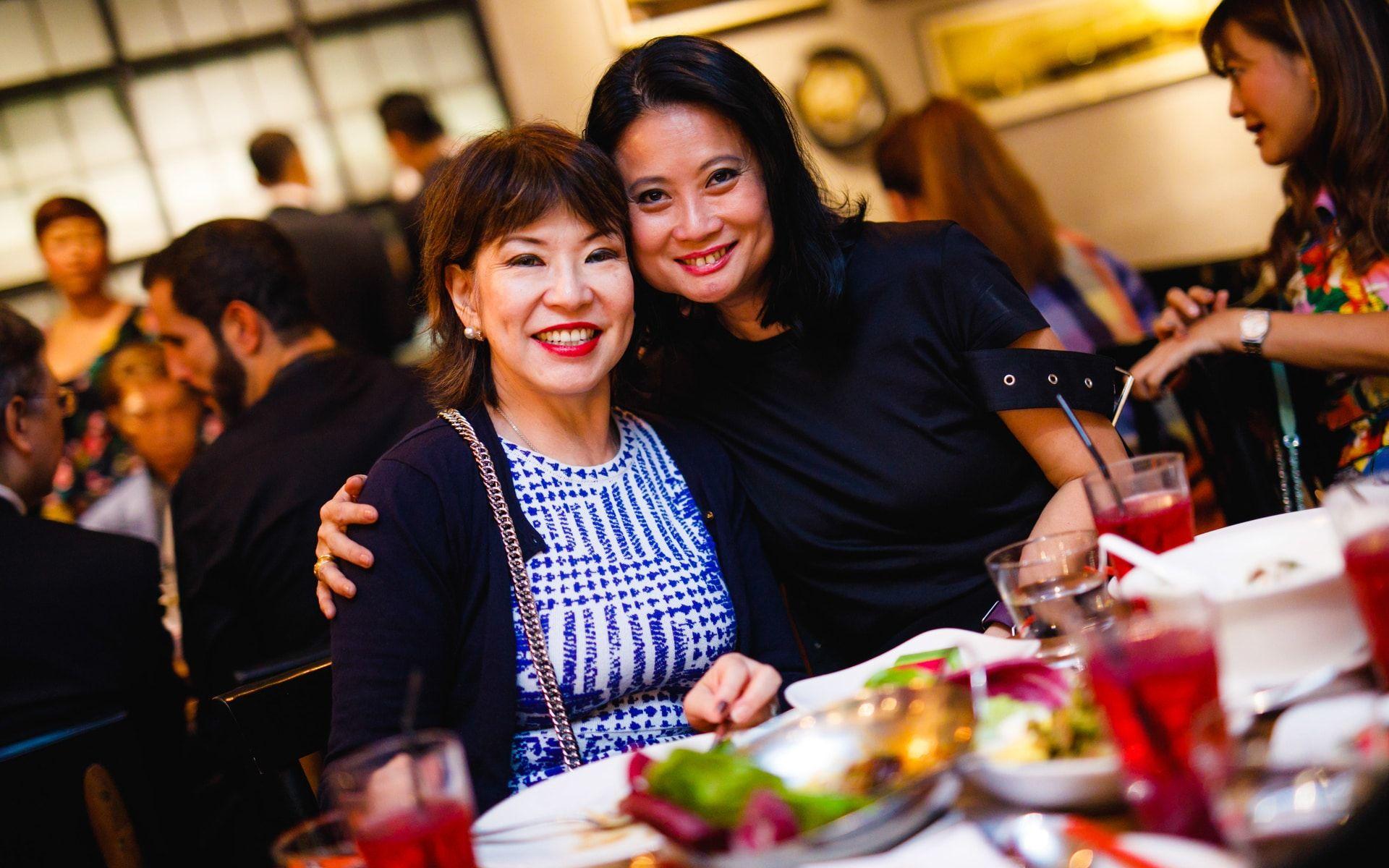 Lim Meng Hong and Christina Ho