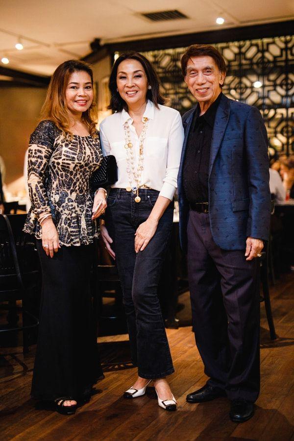 Puan Sri Sylvia Merican, Dato' Seri Farah Khan and Tan Sri Othman Merican