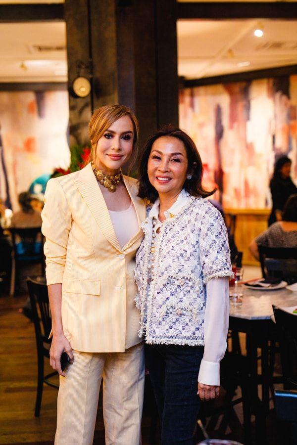 Zahida Rafik and Dato' Seri Farah Khan