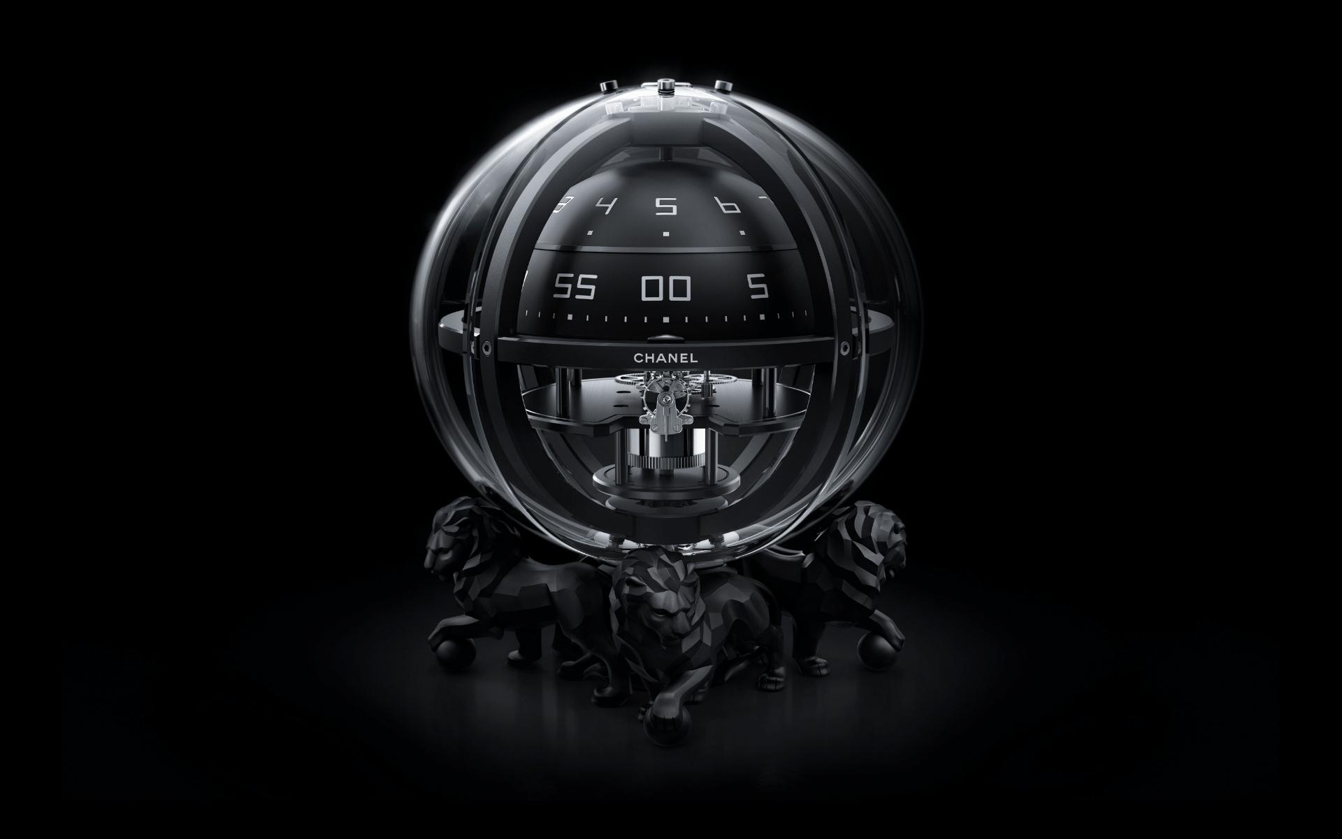 Monsieur chronosphere clock (Photo: Chanel)