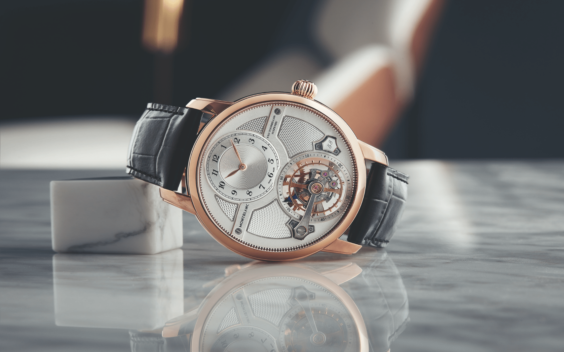 Star Legacy Suspended Exo Tourbillon Limited Edition 58 (Photo: Montblanc)