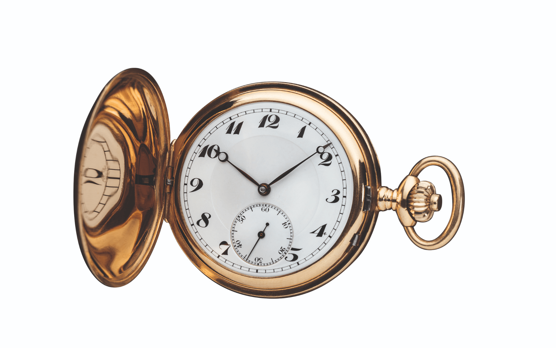 An antique Minerva pocket watch (Photo: Montblanc)