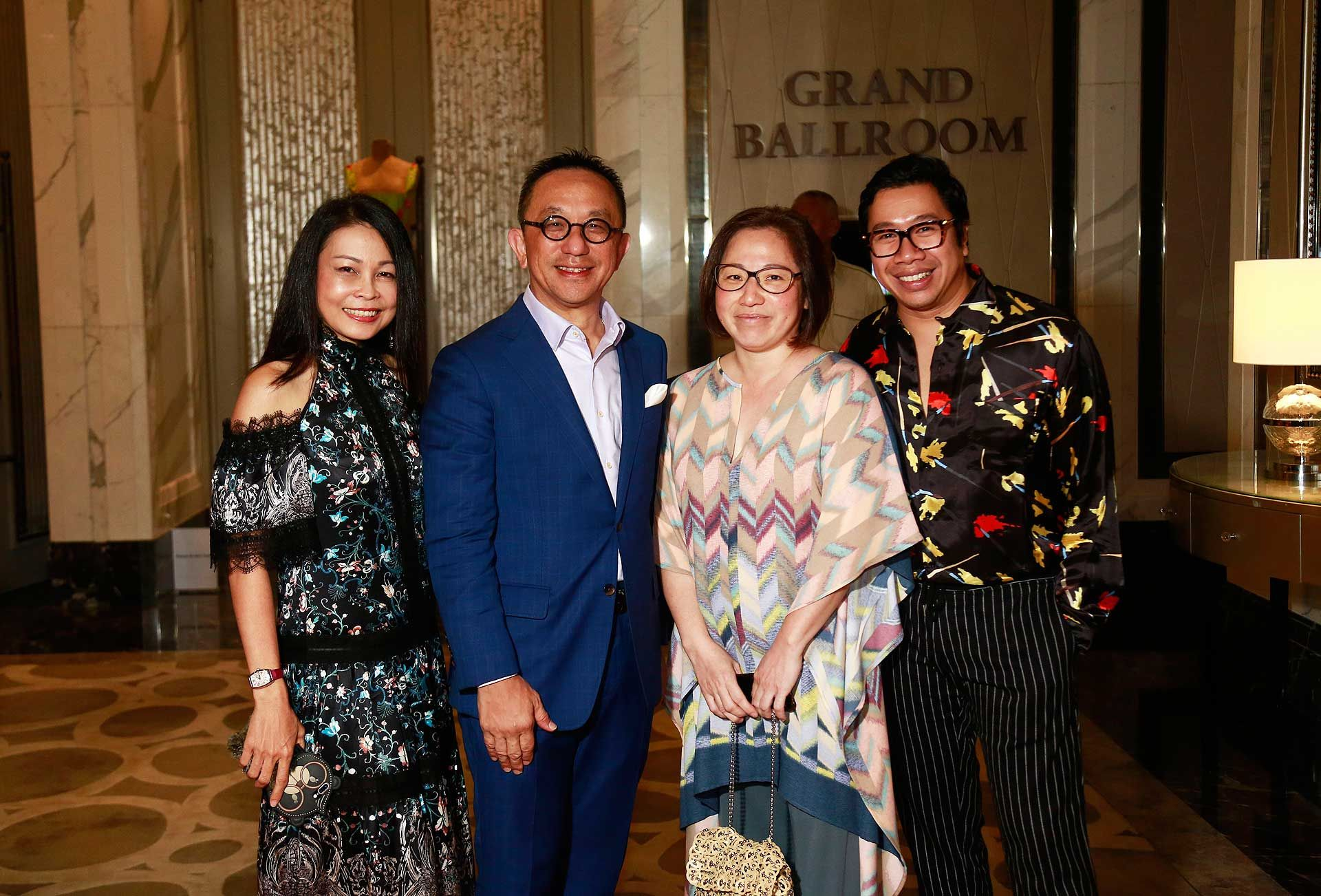 Datin Sri Joey Loh, Datuk Lai Voon Hon, Datin Lisa Lai and Ferhat Nazri-Aziz