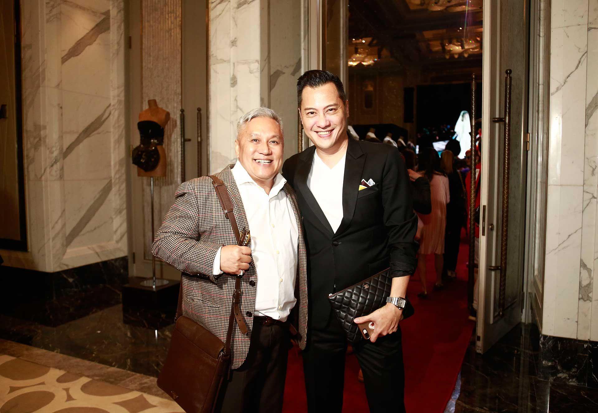 Datuk Redzuawan Ismail and Albert Nico