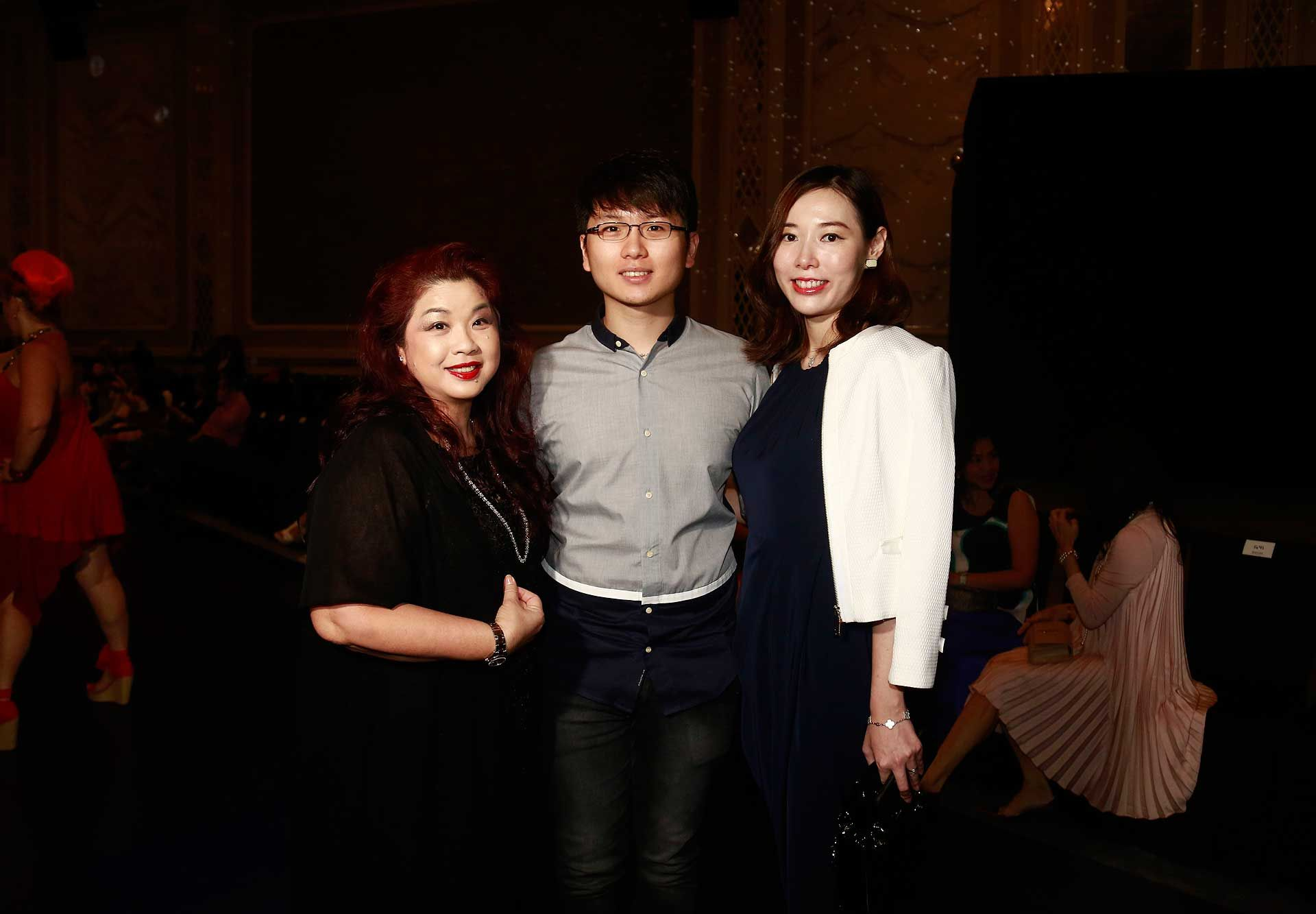 Puan Sri Shirley Law, Jim Tan and Enya Chen