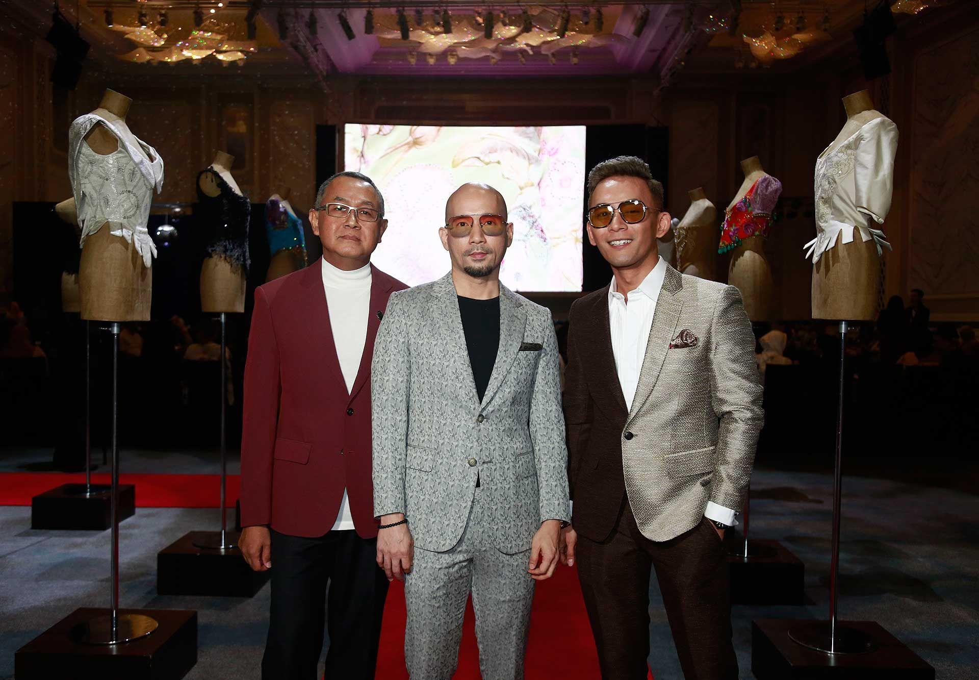 Raja Idnar, Zamry Saffian and Andre Amir