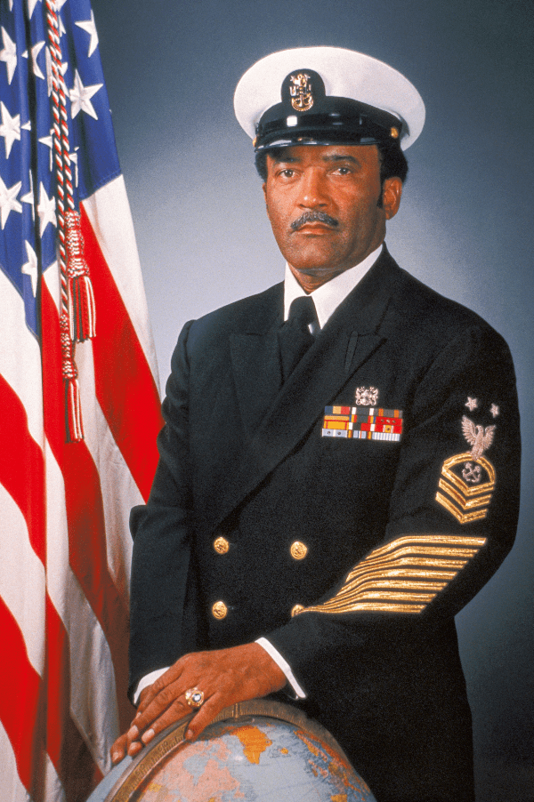 Carl Brashear was a decorated US Navy diver (Photo: Oris)