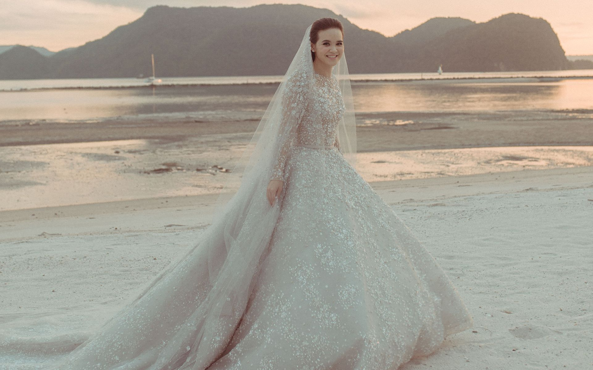 Enchanting Bride Melissa Sin Unveils The Magical Dresses & Details Of Her Big Day