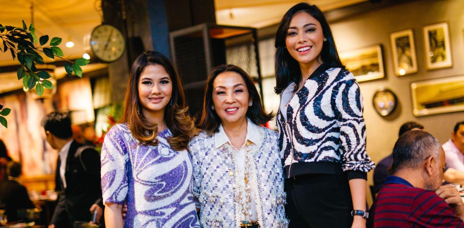 Sonia Rashidi, Dato' Seri Farah Khan and Whulandary Herman