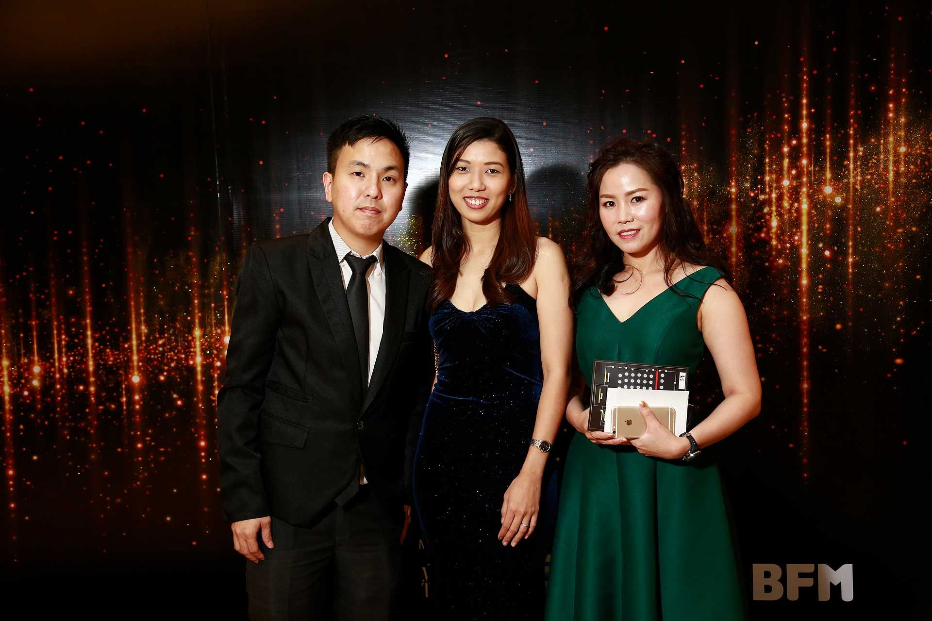 Leon Kok, Samantha Goh and Liew Lai Yen