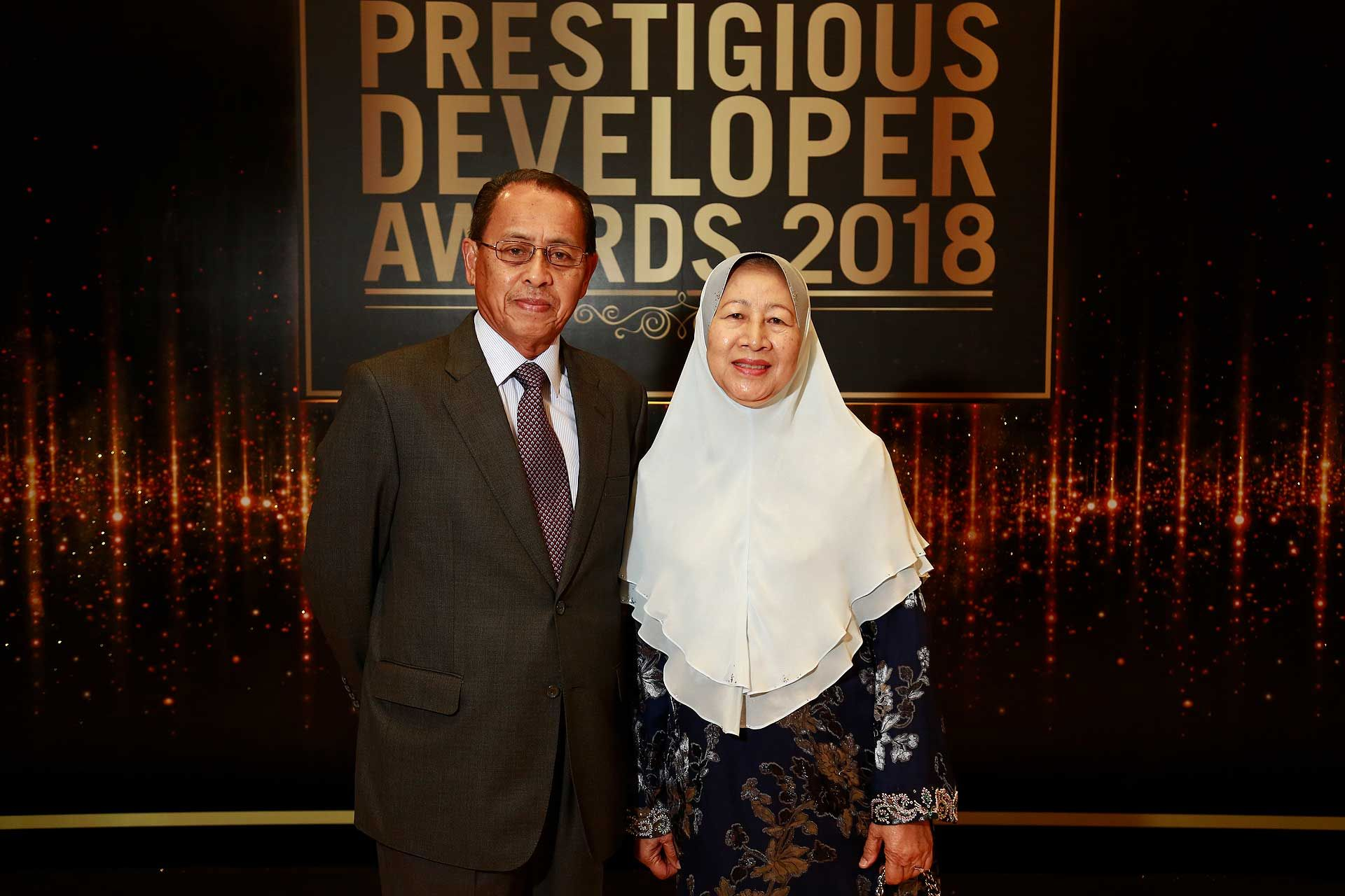 Dato' Mohd Tajri and Datin Sumaiah