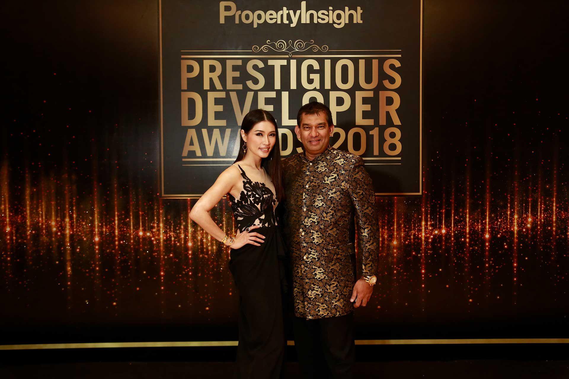 Amber Chia and Dato' Sri Andrew Abishegam