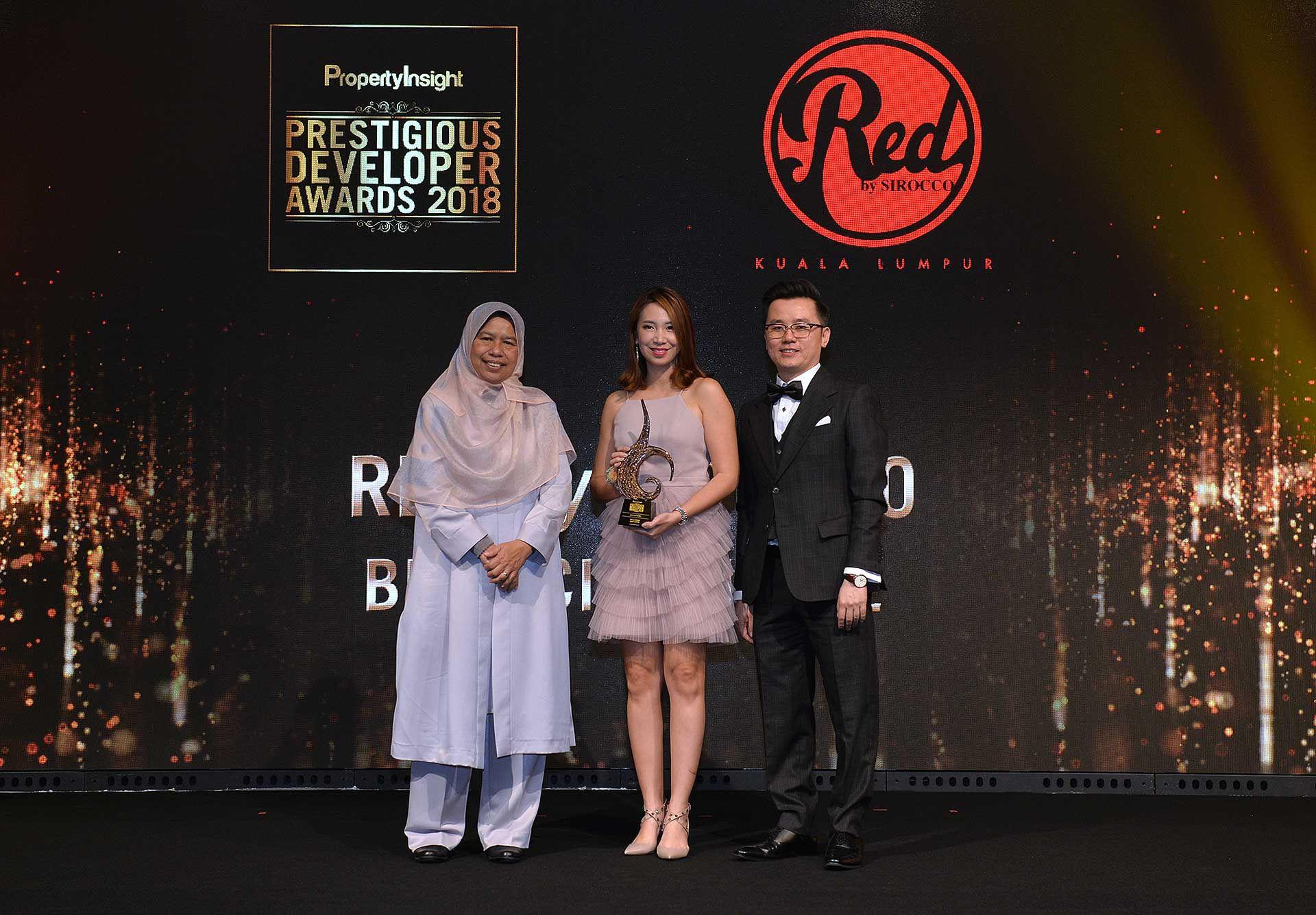 Zuraida Kamaruddin, Datin Lea Chan and Dato' KK Chua