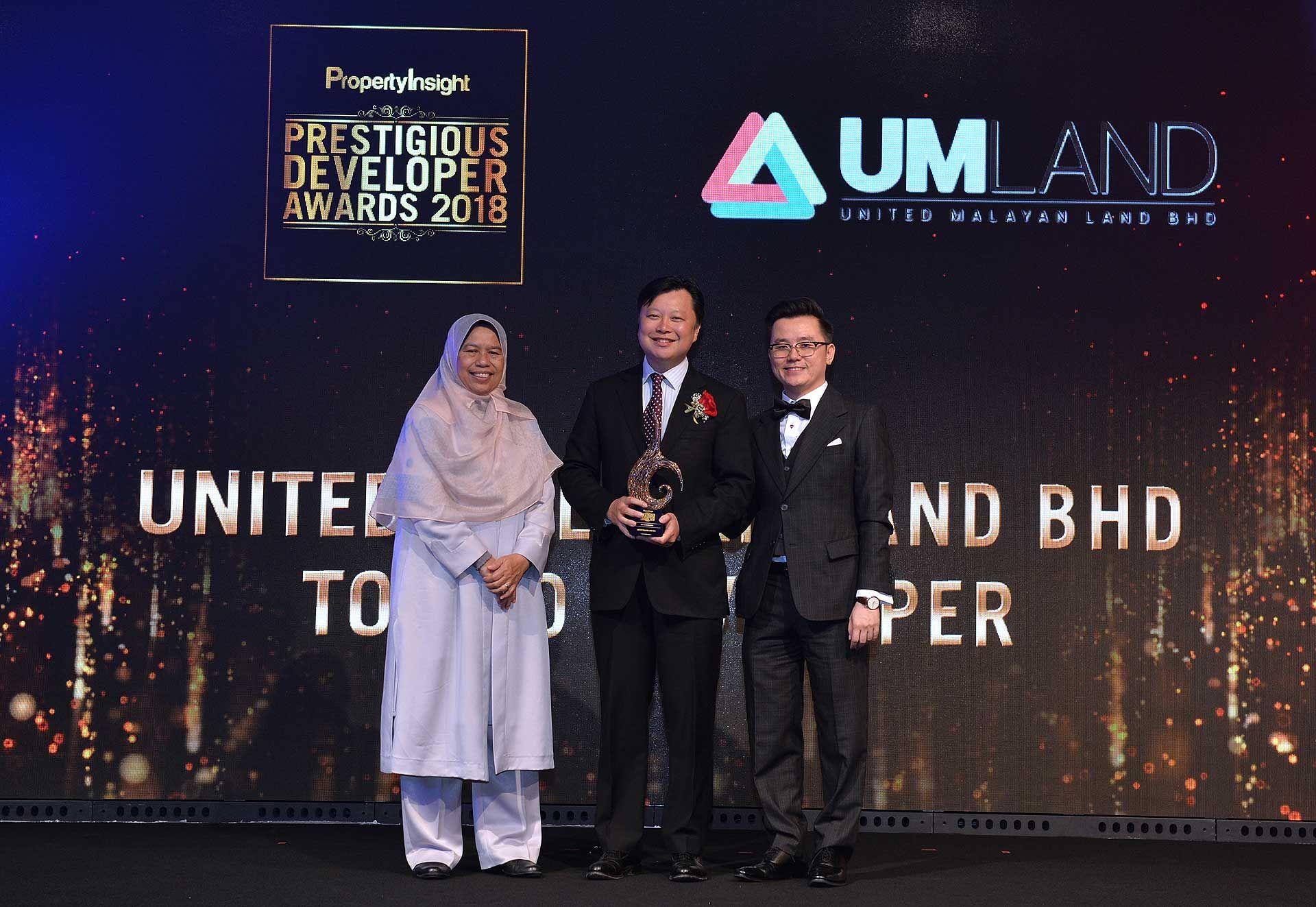 Zuraida Kamaruddin, Dennis Ng and Dato' KK Chua