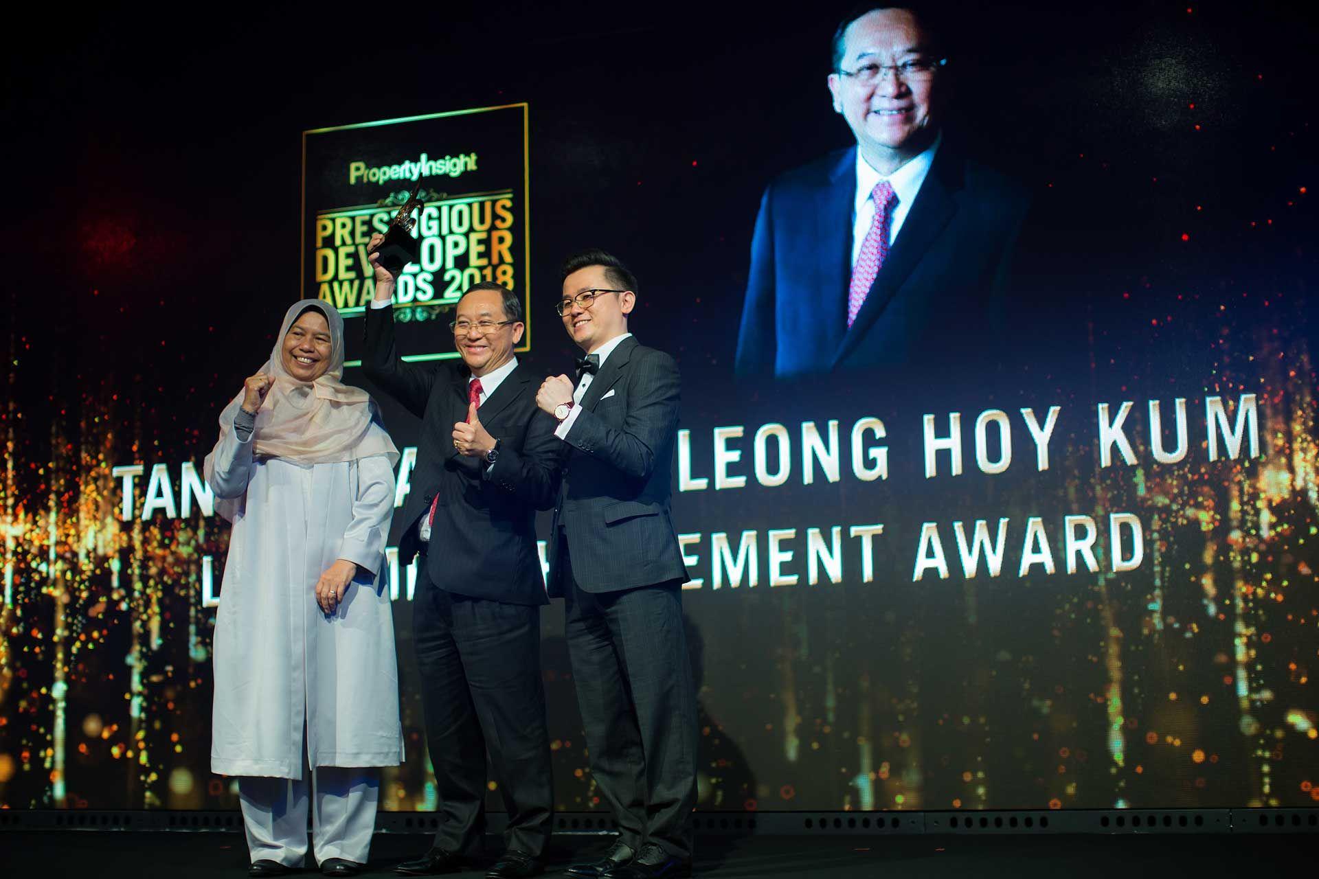 Zuraida Kamaruddin, Tan Sri Leong Hoy Kum and Dato' KK Chua