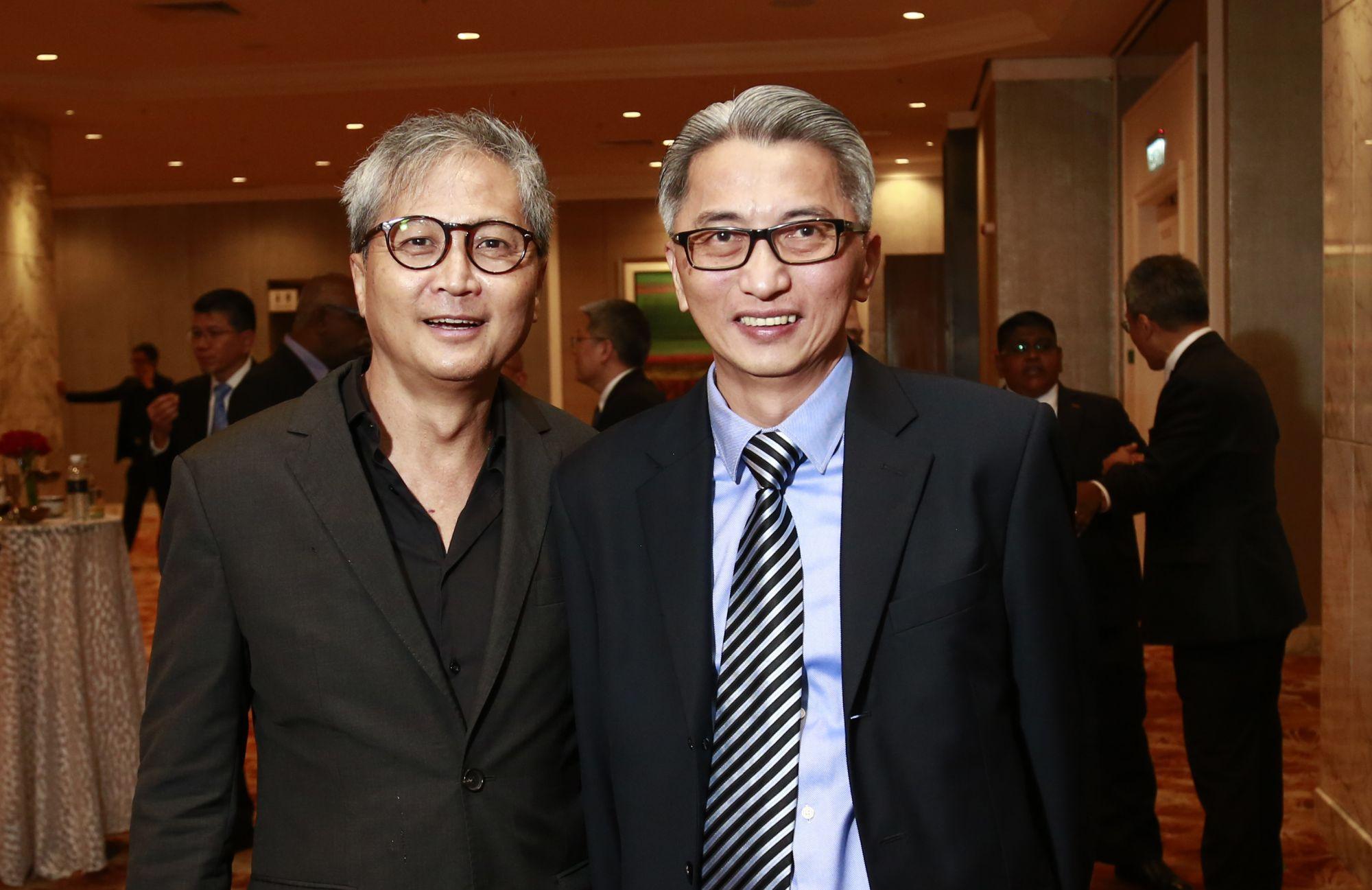 Leong Yew Kooi and Ong Ghee Bin