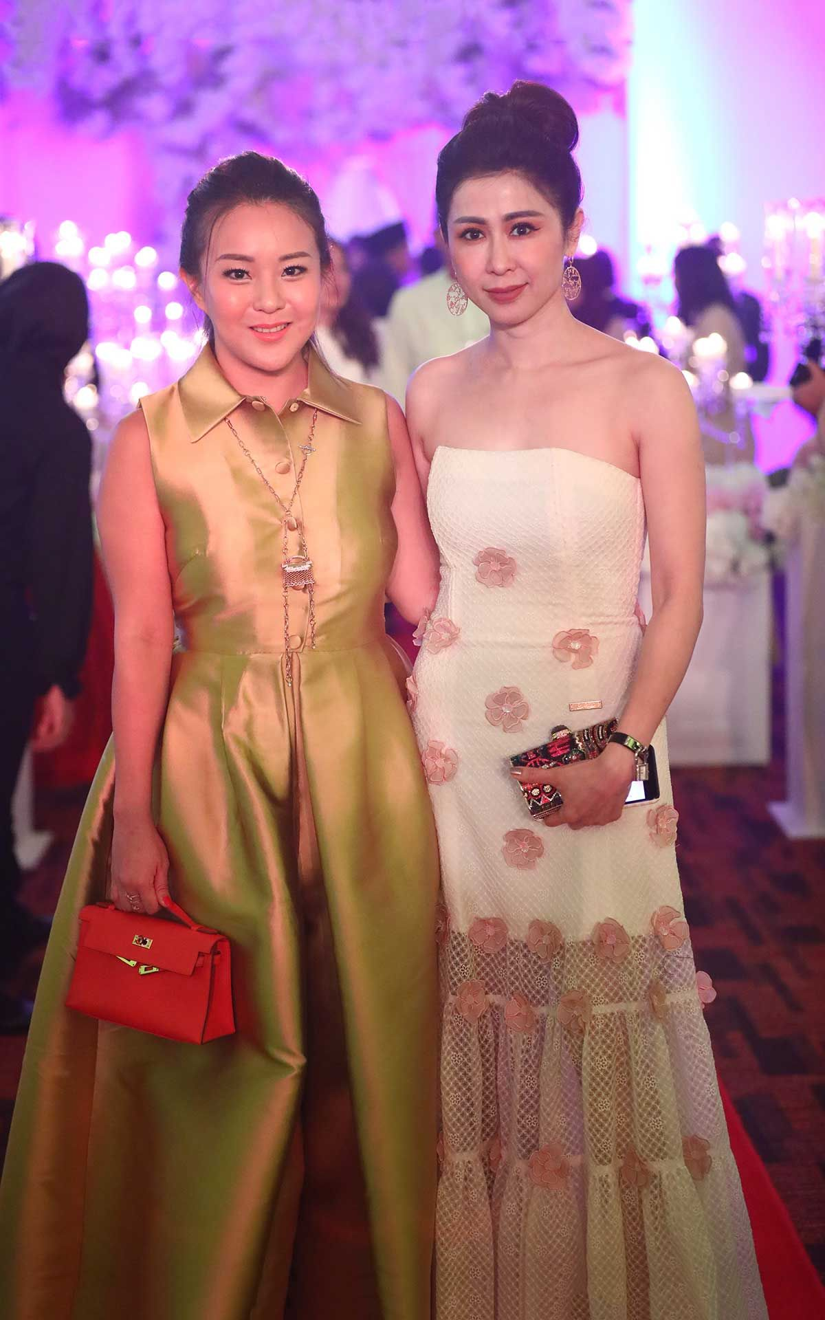 Valerie Ong and Datin Kimisabelle Choo
