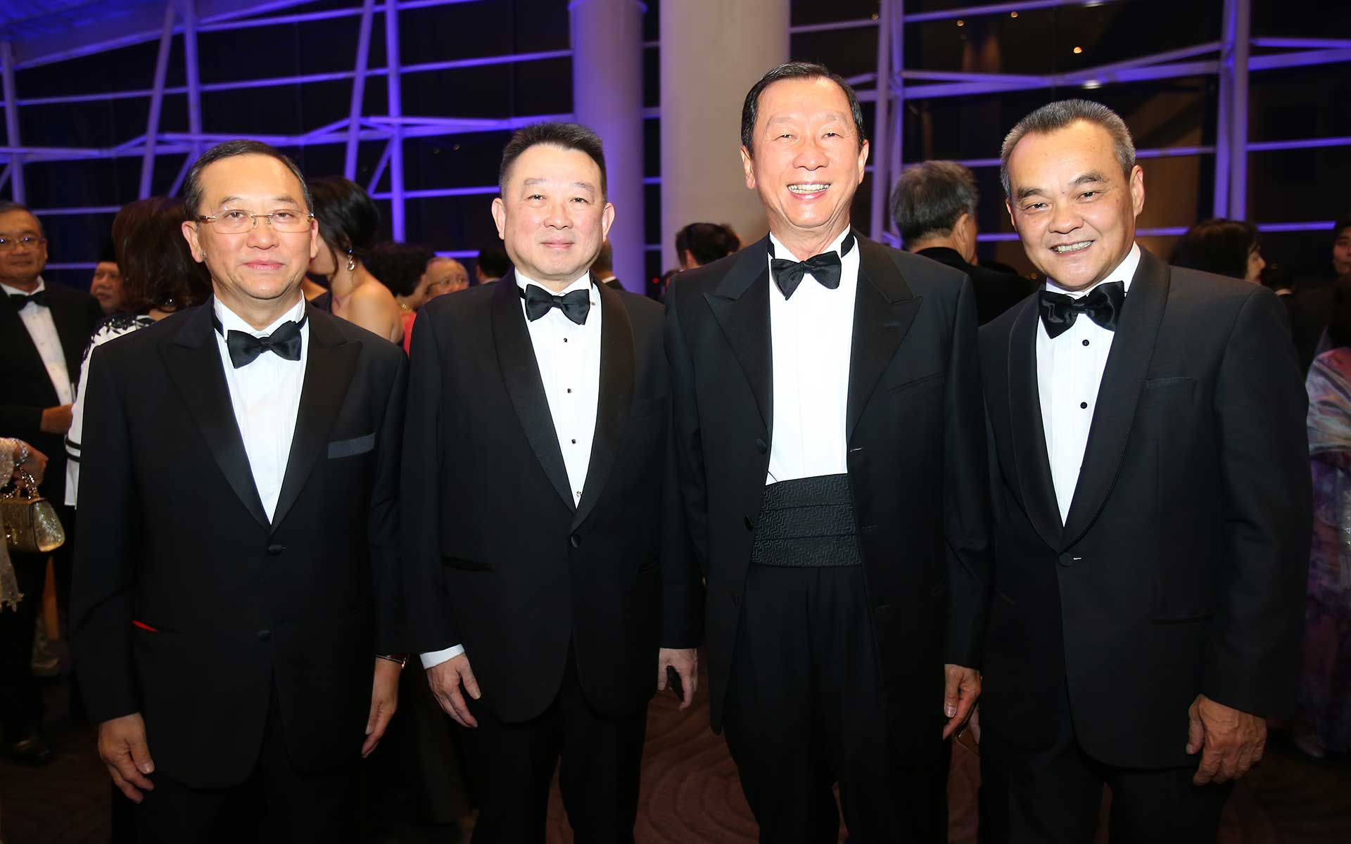 Tan Sri Leong Hoy Kim, Dato' Andrew Leong, Tan Sri Danny Tan and Dato' Eric Ong