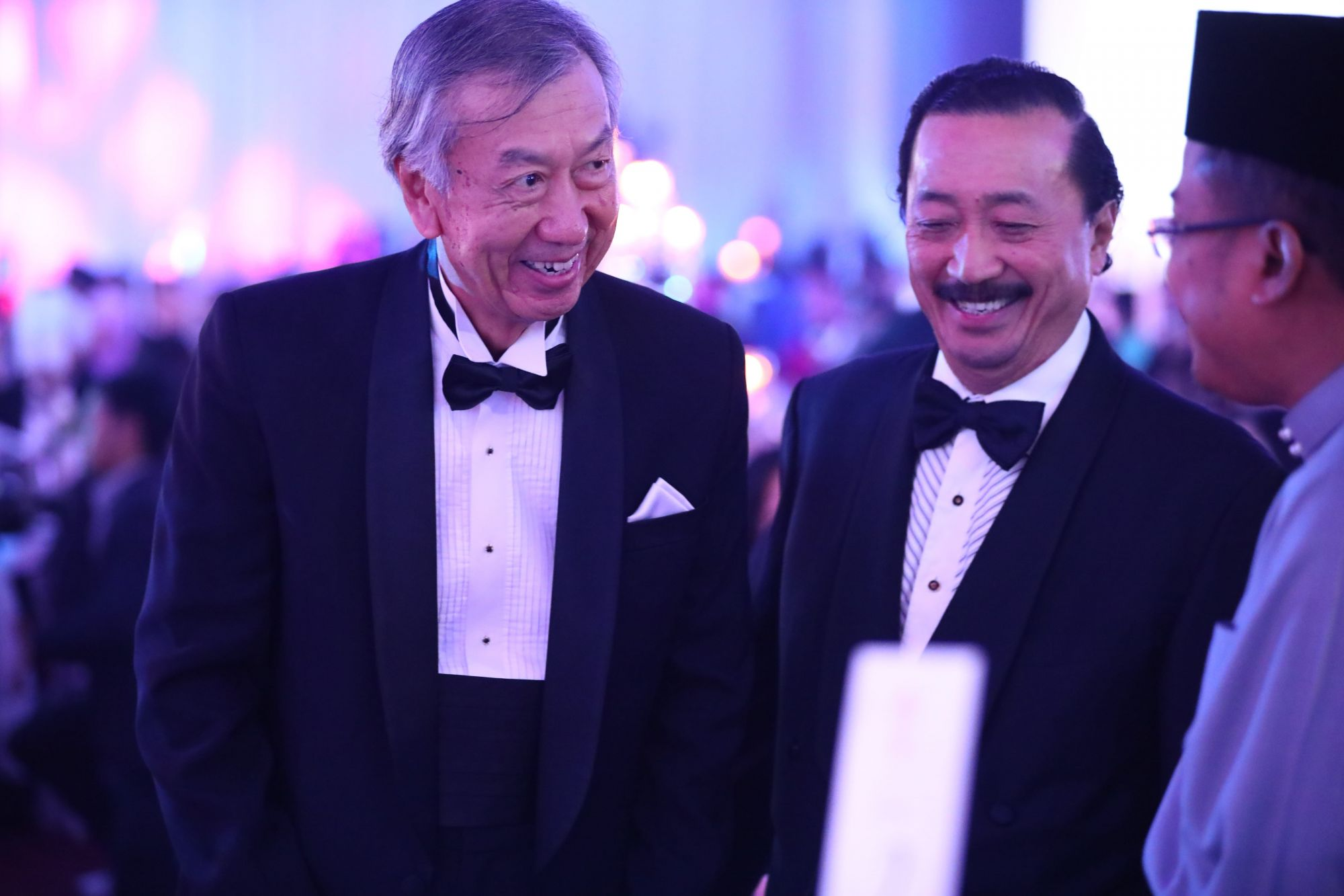 HE Makio Miyagawa and Tan Sri Vincent Tan