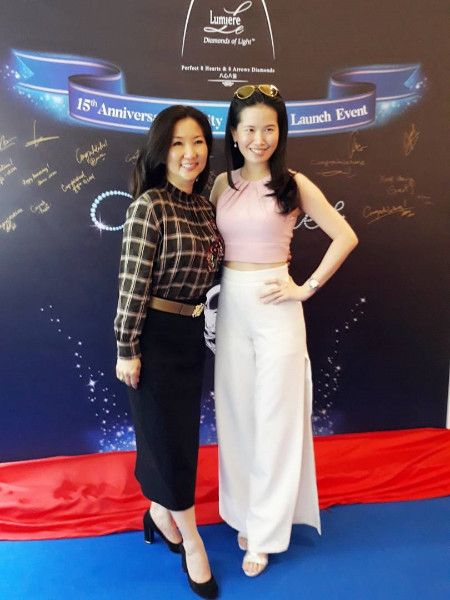 Dato' Ruby Khong and Raechel Chong (Photo: Le Lumiere)