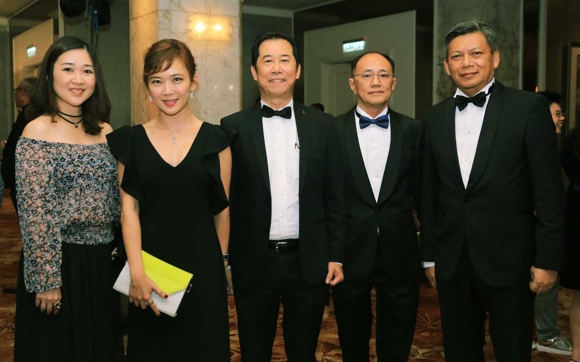 May Chew, Koh Mei Lee, Heng Beng Fatt, Chris Teh and Dato' Mahmud Fauzi Muda