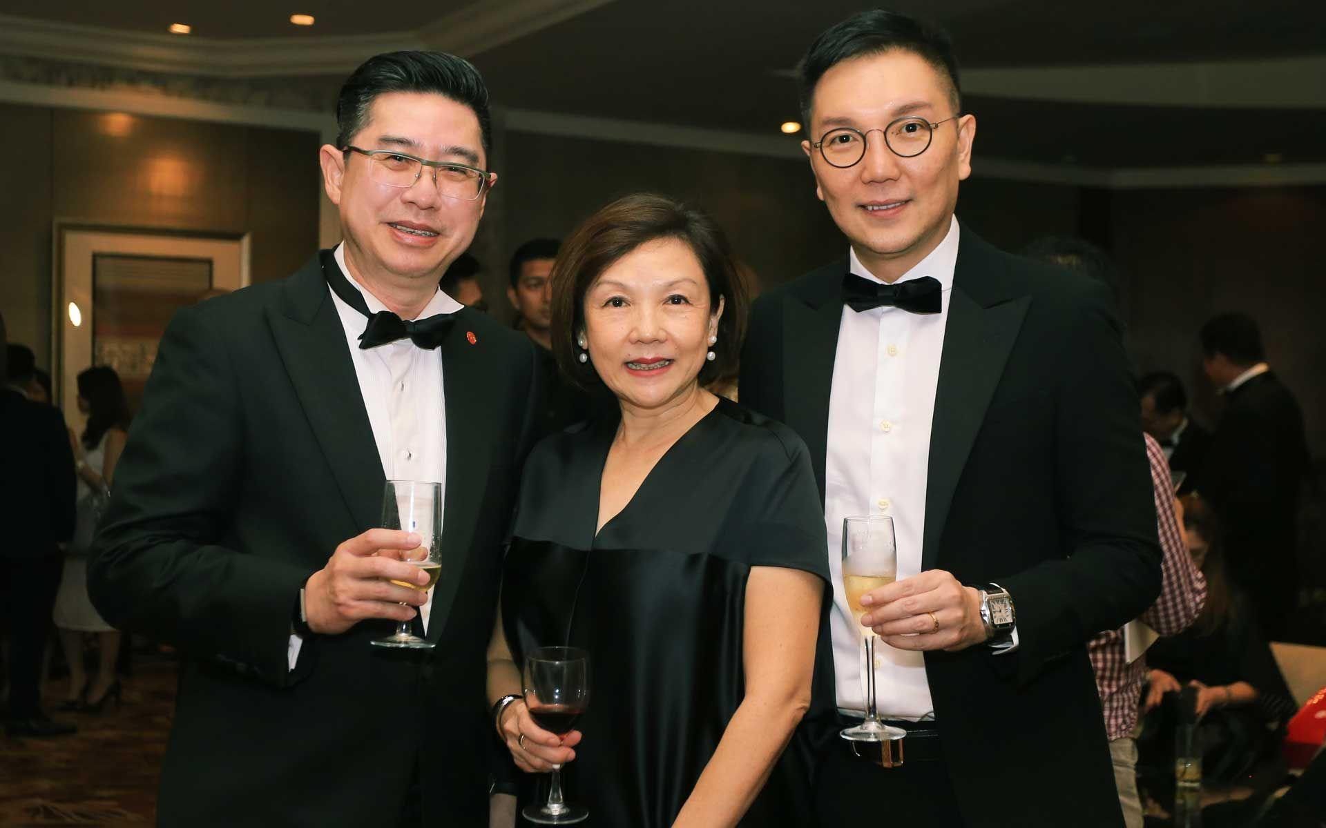 Raymond Teo, Chung Tze May and Jamie Ong