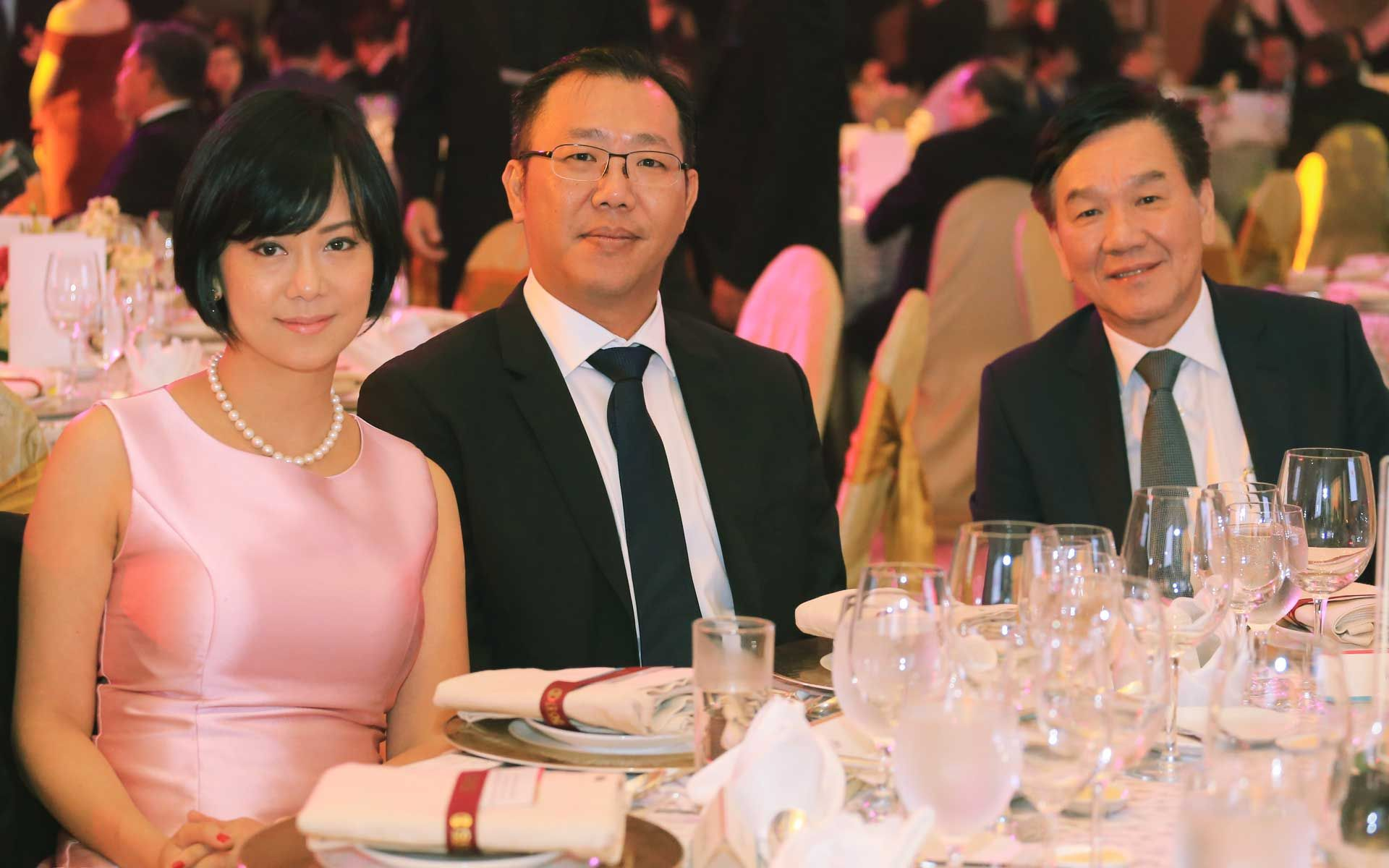 Katryn Yen, Dato' Seri William Chiang and SS Chiang